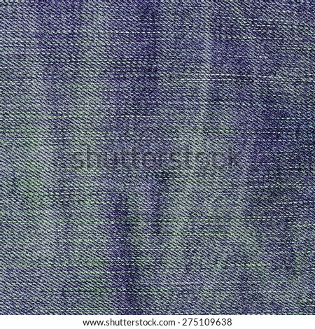 blue denim texture closeup as background for design-works - stock photo