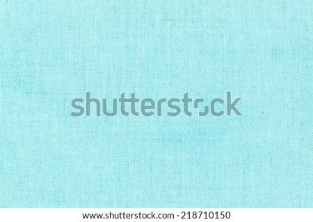 blue natural linen texture for the background. - stock photo