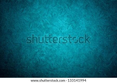 blue paper background of grunge background - stock photo