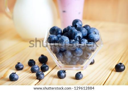 blueberries - stock photo