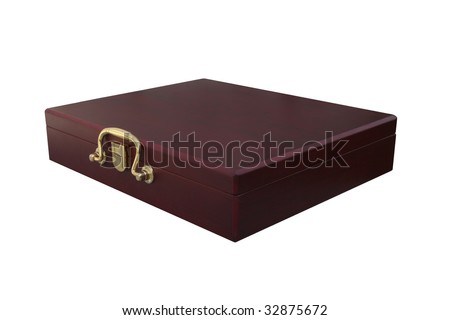 box on white background. isolated object