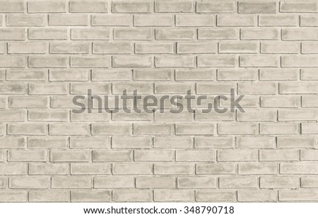 brick wall background in vintage style. Sepia tones. concept.Abstract weathered texture stained old stucco brick wall background in room, blocks of stonework  color horizontal architecture wallpaper - stock photo