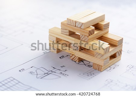 Business and construction concept. - stock photo