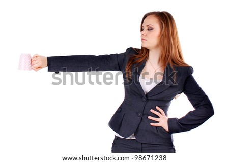 business, business woman, caucasian, corporate, face, girl, happy, isolated, lady, manager, office, people, person, pretty,job, partner, secretary, sexy, smile, staff, student, work, adult. - stock photo