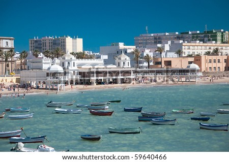 """Caleta"" Beach of Cadiz"