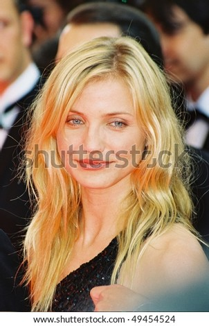 CANNES, FRANCE - MAY 20: Cameron Diaz attends the photo call 'Gangs of New York' during the 55th Cannes film festival, May 20, 2002 in Cannes, France - stock photo