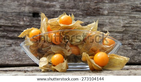 Cape berries - stock photo