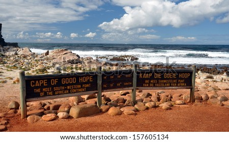 Cape of Good Hope South Africa - stock photo