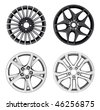 Car Rim Series - 7 - stock photo