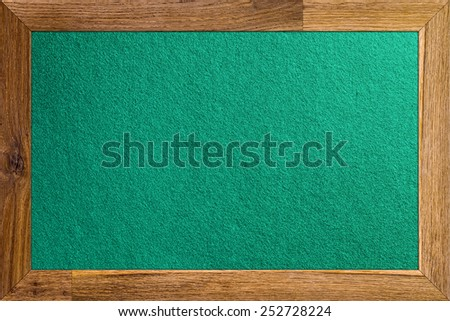 casino table,frontal view, focus on a center - stock photo