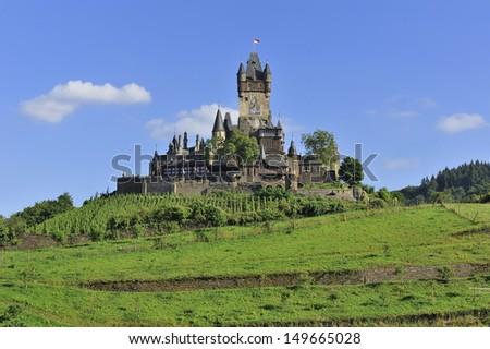 castle of Cochem - stock photo