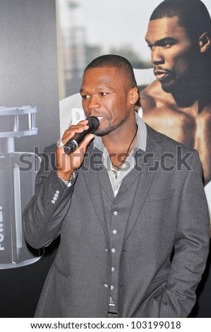 "50 Cent Launches New Men's Fragrance ""Power by 50"" at Macy's, Lakewood, CA.  11-11-09"