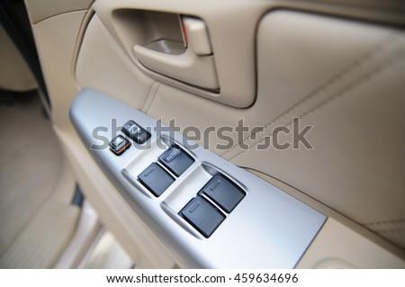 car door lock button. \ Car Door Lock Button D
