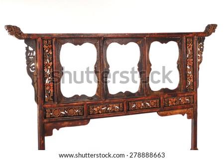 Chinese Antique Furniture - Chinese Antique Furniture Stock Photo (Edit Now) 278888663