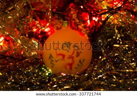 Christmas ball #1 - stock photo
