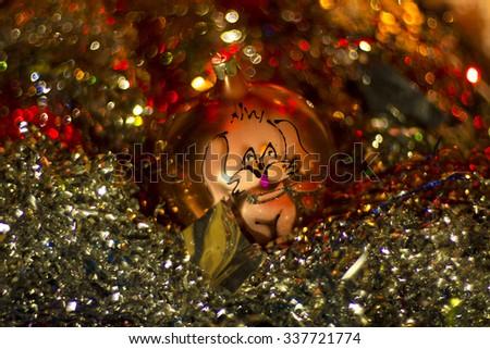 Christmas ball #2 - stock photo
