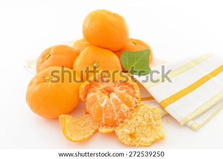 ?Citrus fruits?mandarin orange - stock photo