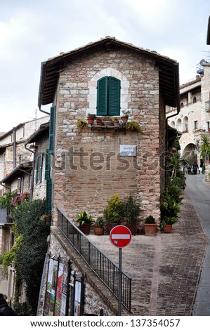 City of Assisi, Italy, view