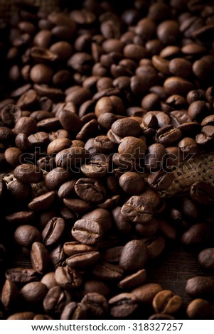 Coffee beans, fragrance