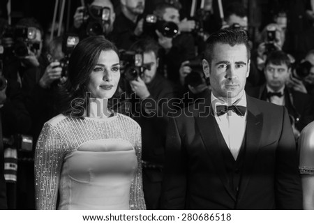 Collin Farrell attend the 'Lobster' Premiere during the 68th annual Cannes Film Festival on May 15, 2015 in Cannes, France. - stock photo