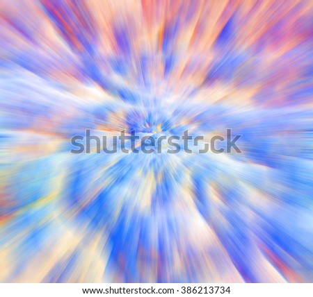 colors and blurred background