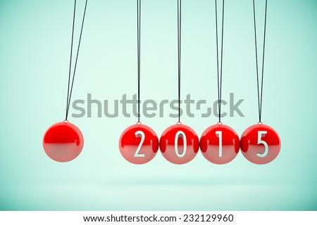 2015 Concept - stock photo