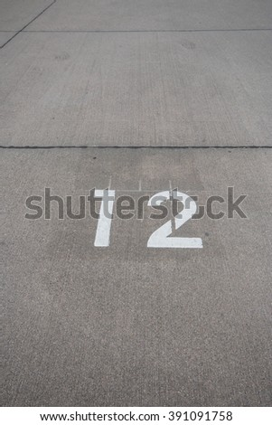 concrete road number 12