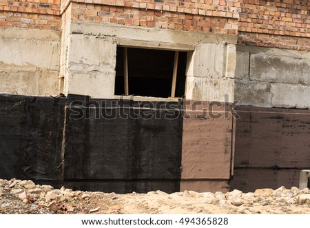 Stock images royalty free images vectors shutterstock for Basement construction methods