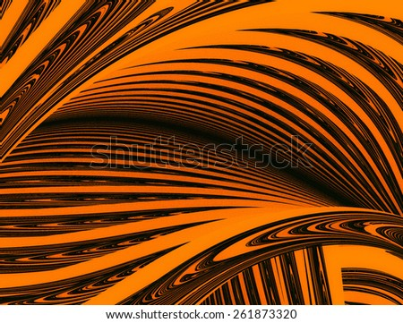 "Contrast abstract background, similar to tiger stripe. Grungy texture, is ""dirty"" and some ""graininess"" - stock photo"