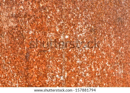 Corroded old metal texture background - stock photo