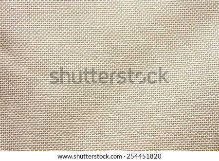 cotton bag's fabric texture