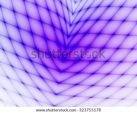 3d abstract fractal illustration background for creative design - stock photo