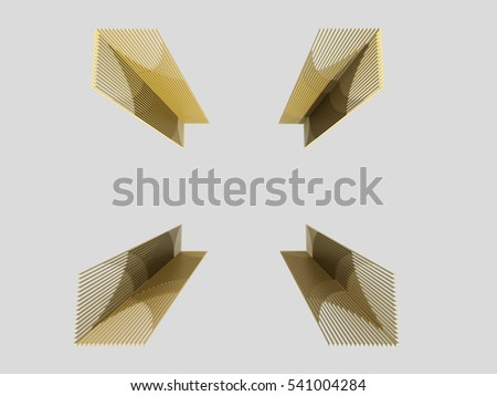 3D Abstract Frame