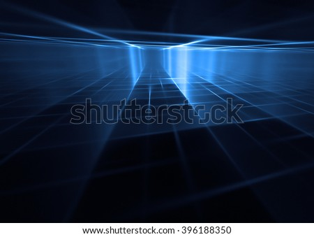 3d abstract grid background texture - stock photo