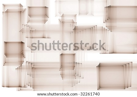 3D Abstract Texture Background - stock photo