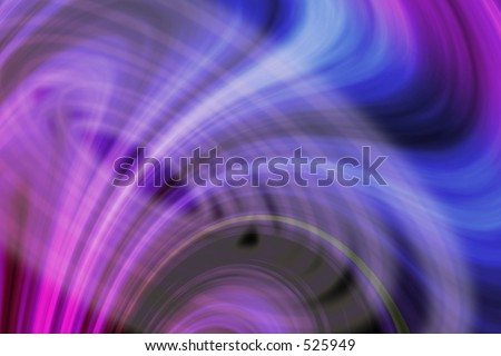 3D abstraction Illustration. - stock photo