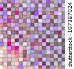 3d backdrop in different shades pink purple - stock photo