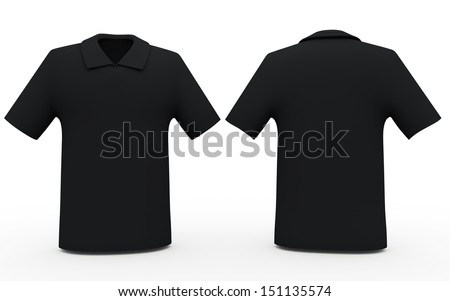 Black Golf Shirt 3d Black Color Sport Shirts