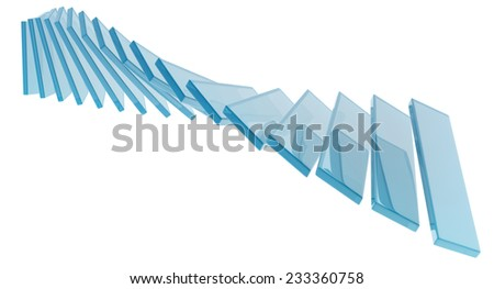 3d black dna model on dark background - stock photo