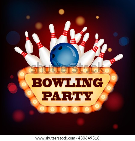Retro Bowling Stock Images Royalty Free Images Amp Vectors