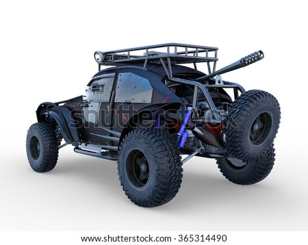 3D CG rendering of buggy car