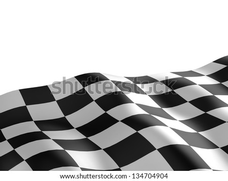 3d checkered flag texture.