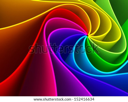 3d colorful background  - stock photo