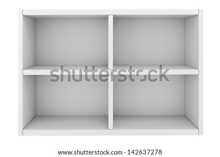 3d colorful shelf