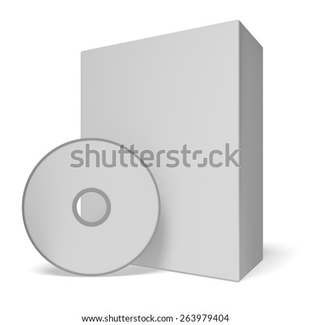 3D. Computer Software, Box, CD.