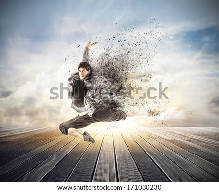 3d Dancing - stock photo
