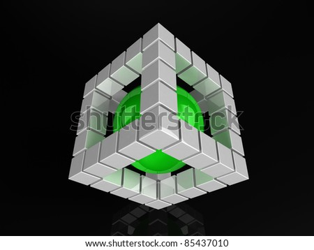 3d Design Element - stock photo