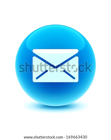 3d Email icon - stock photo
