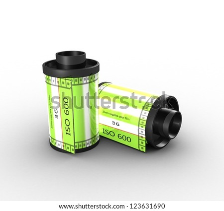 3D Film canisters