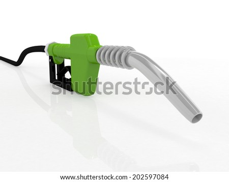 3D gas pump nozzle